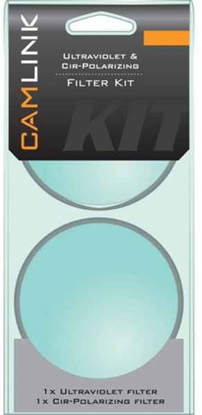 Camlink Camlink 55mm UV and Circular Polarising filters