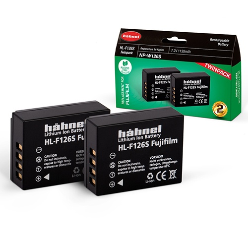 Hahnel Hahnel HL-F126S Twin Battery Pack for Fuji