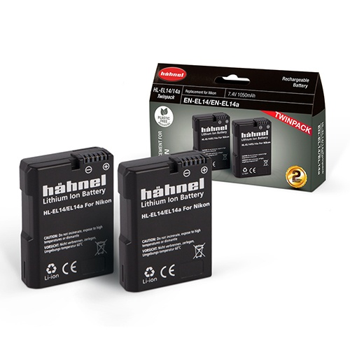 Hahnel Hahnel HL-EL14 Twin Battery Pack for Nikon