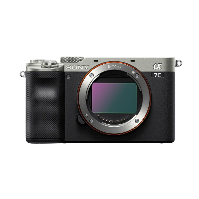 Sony Sony Alpha 7C Mirrorless Camera Body, Silver