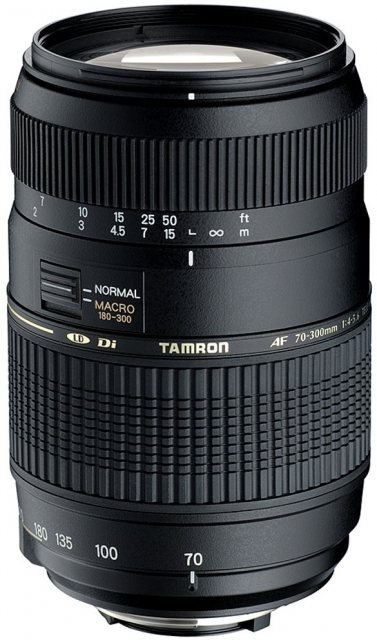 Tamron Tamron AF 70-300mm f4/5.6 Di NAF with focus motor