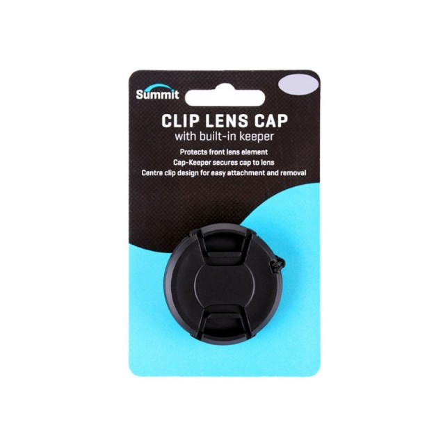 Summit Summit Clip Lens Cap with Keeper Cord, 46mm