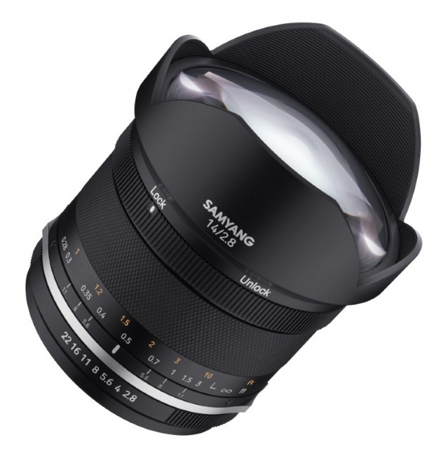Samyang Samyang MF 14mm F2.8 MkII for Canon EOS