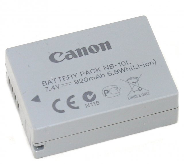 Canon Canon NB-10L, Battery Pack