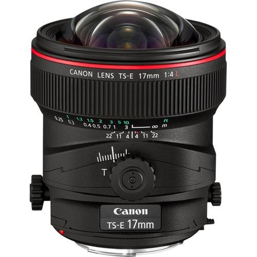 Canon TS-E 17mm f4 L Tilt & Shift Lens