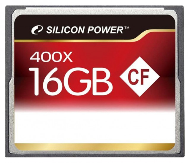 Silicon Power Silicon Power Compact Flash, 16 gig x400 Speed