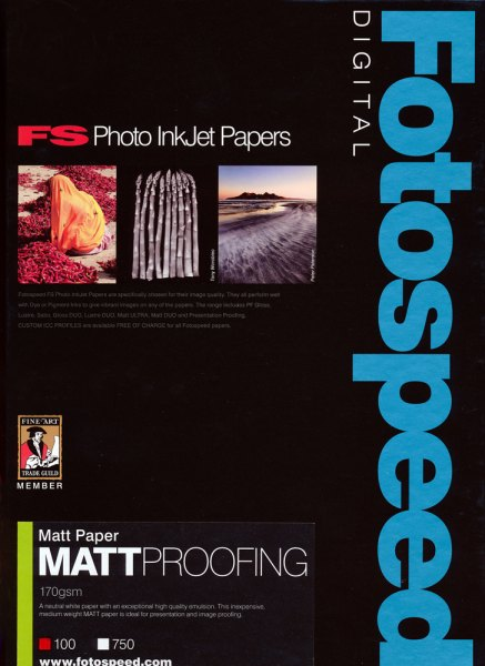 Fotospeed Fotospeed Matt Proofing Paper, 170gsm, A4 - 100 sheets