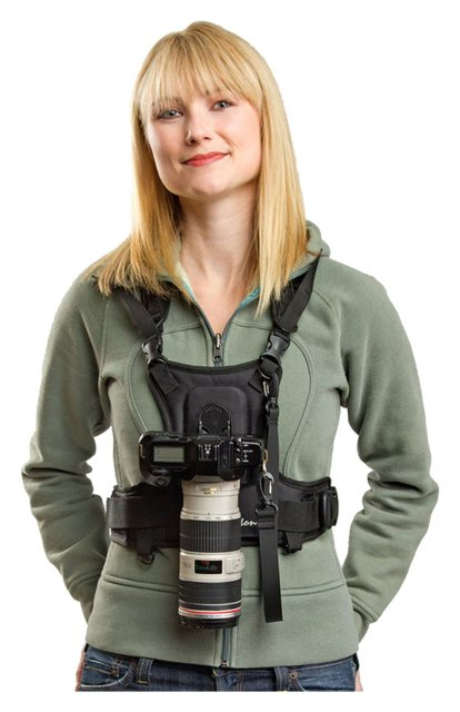 Cotton Carrier Cotton Carrier Vest for one camera