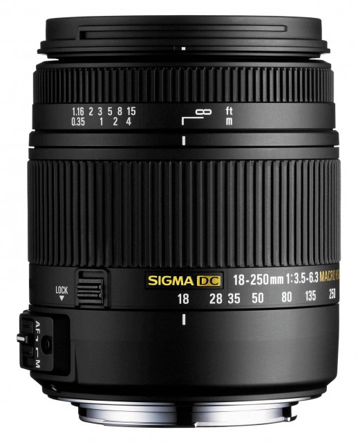 Sigma Sigma 18-250mm f3.5-6.3 DC Macro HSM Lens for Sony Alpha DSLR