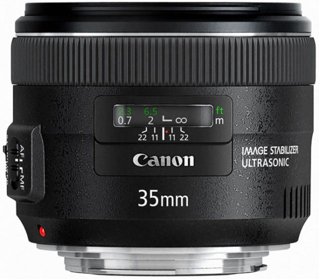 Canon Canon EF 35mm f2 IS lens