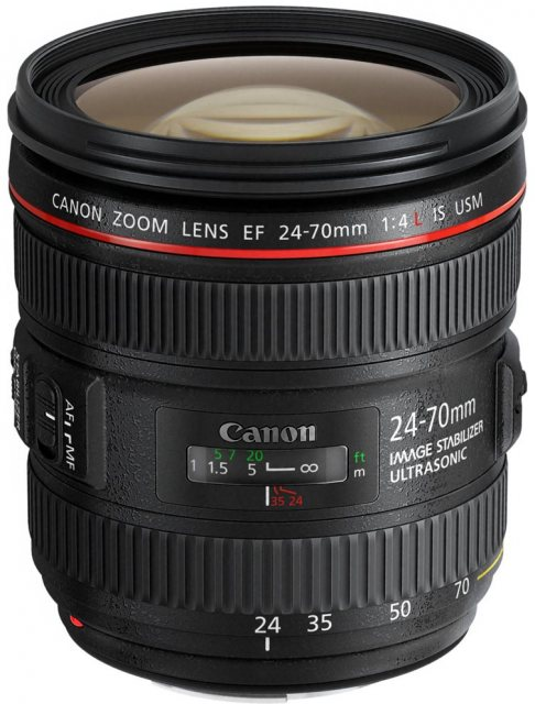 Canon Canon EF 24-70mm f4 L IS USM lens