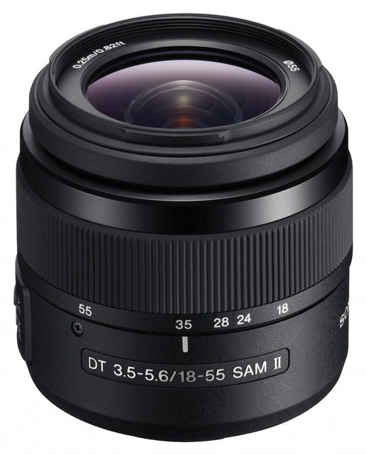 Sony Sony 018-55mm f3.5-5.6 SAM MkII lens for Alpha