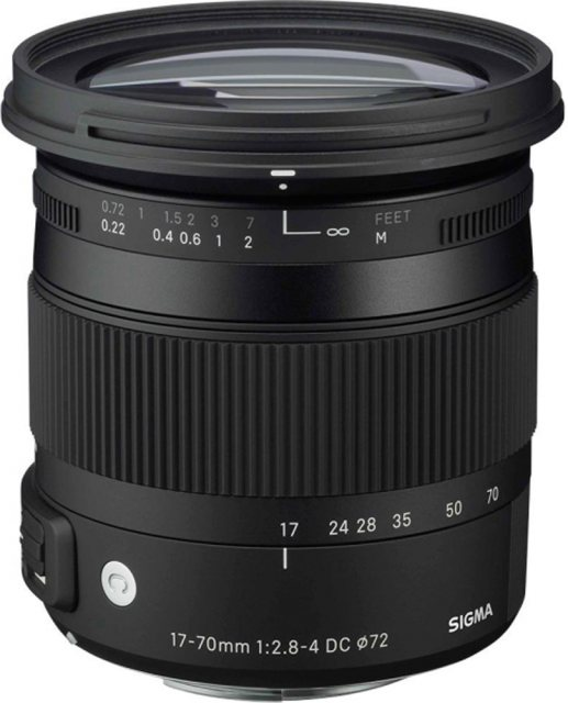 Sigma Sigma 17- 70mm f2.8-4 DC Macro OS HSM-C lens for Canon