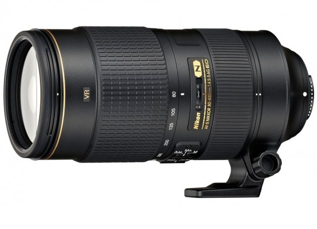 Nikon Nikon AF-S 80-400mm f/4.5-5.6G ED VR lens for DSLR
