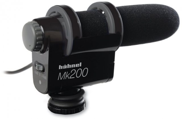 Hahnel Hahnel MK200 External Microphone for Video and D-SLR