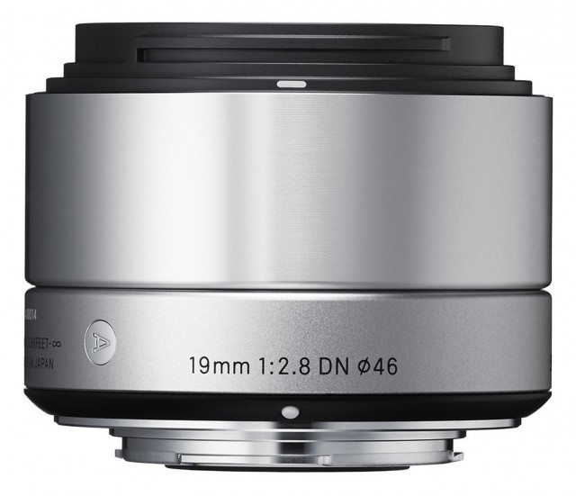 Sigma Sigma 19mm f2.8 EX DN NEW Silver for Micro Four Thirds