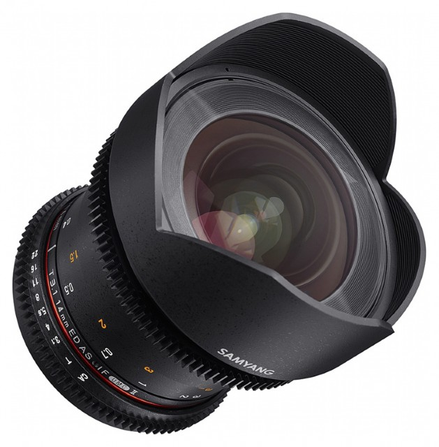 Samyang Samyang 14mm T3.1 VDSLR for Canon EOS