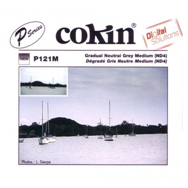 Cokin Cokin P Grey 2 Grad Medium, ND4, P121M