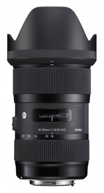 Sigma Sigma 18-35mm f1.8 OS HSM lens for Nikon DSLR