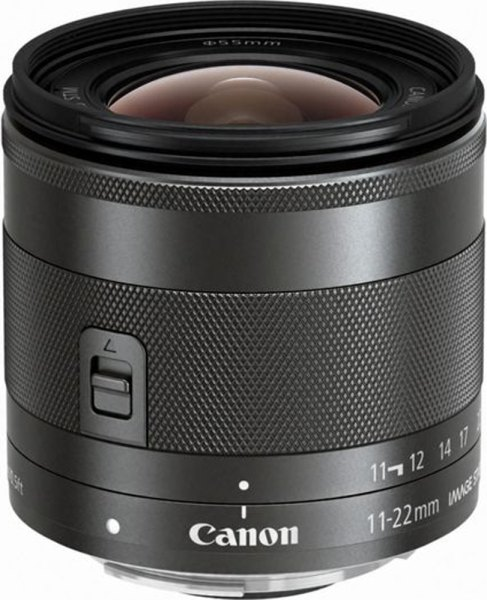 Canon Canon EF-M 11-22mm f/4-5.6 IS STM lens for Canon EOS M