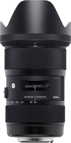 Sigma Sigma 18- 35mm f1.8 OS HSM lens for Sony DSLR