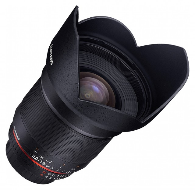 Samyang Samyang 16mm F2.0 for Sony