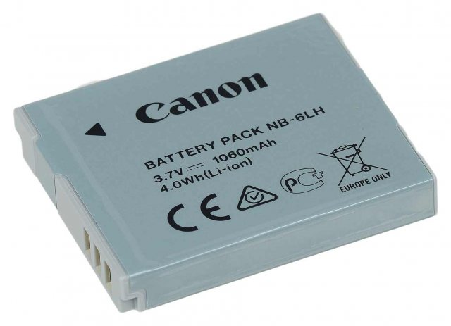Canon Canon NB-6LH Lithium ion Battery Pack 3.6v 1060mah