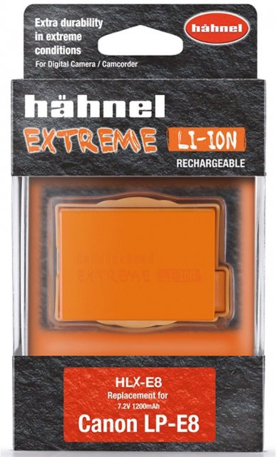 Hahnel Hahnel Extreme HLX-E8 7.2v 1100mah battery for Canon