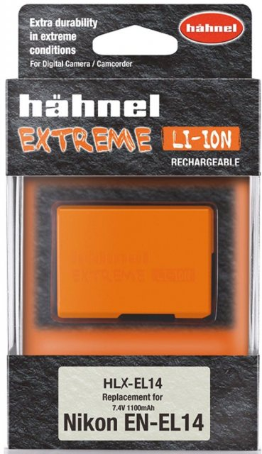 Hahnel Hahnel Extreme HLX-EL14 7.4v 1000mah battery for Nikon