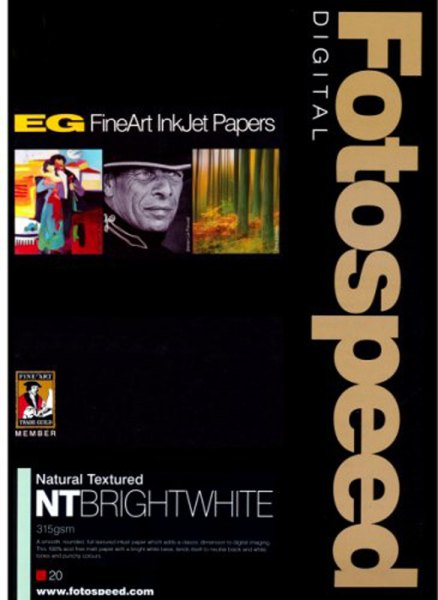 Fotospeed Fotospeed NT Bright White Paper, 315gsm, A3 x 20