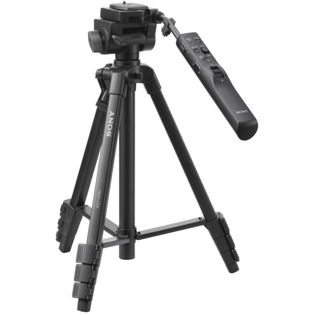 Sony Sony VCT-VPR1 Aluminium tripod with advanced remote control