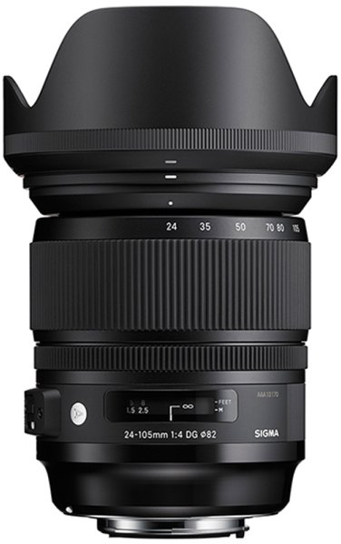 Sigma Sigma 24-105mm f4 DG OS HSM lens for Canon EOS