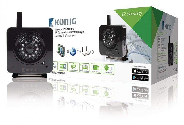 Konig Konig SEC-IPCAM100B Security Camera