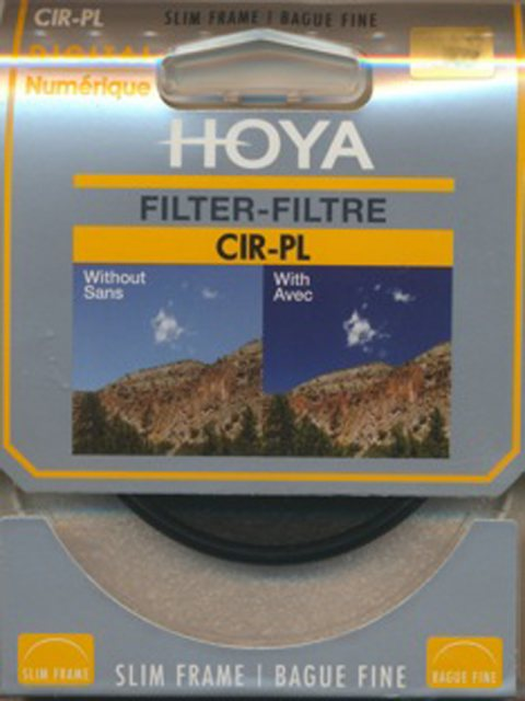 Hoya Hoya 37mm Slim Circular Polarising filter