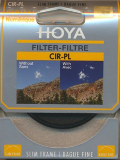Hoya Hoya 72mm Slim Circular Polarising filter