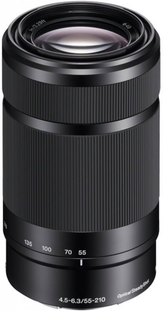 Sony Sony E 55-210mm F4.5-6.3 Black zoom lens