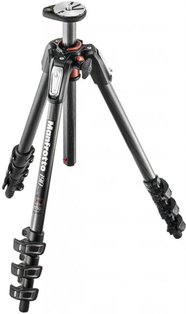 Manfrotto Manfrotto MT190CXPRO4 Carbon Fibre 4-section tripod legs