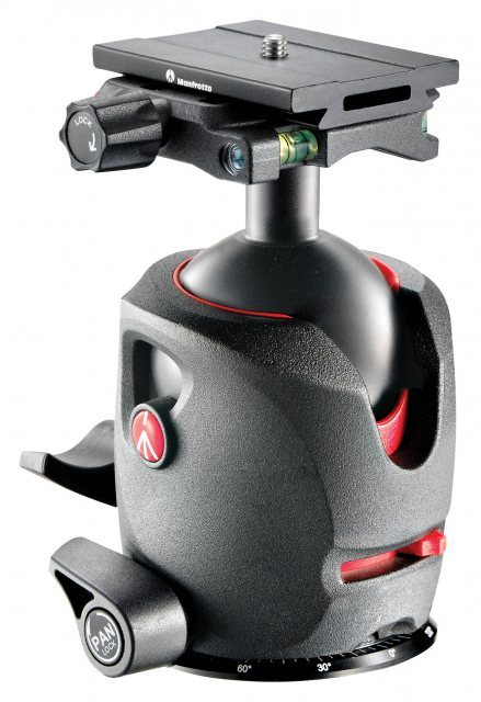 Manfrotto Manfrotto 57 Magnesium Ball Head with Top Lock Quick Release