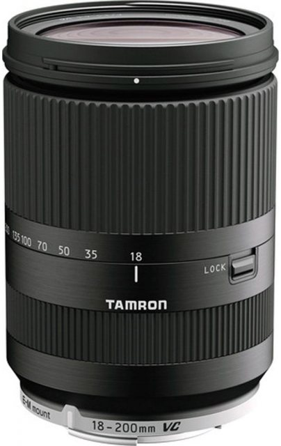 Tamron Tamron 18-200VC Di3 black lens for EOS M
