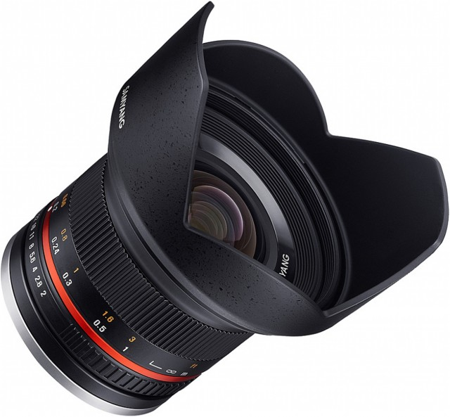 Samyang Samyang 12mm f2.0 Wide angle lens for for Micro Four Thirds, Black