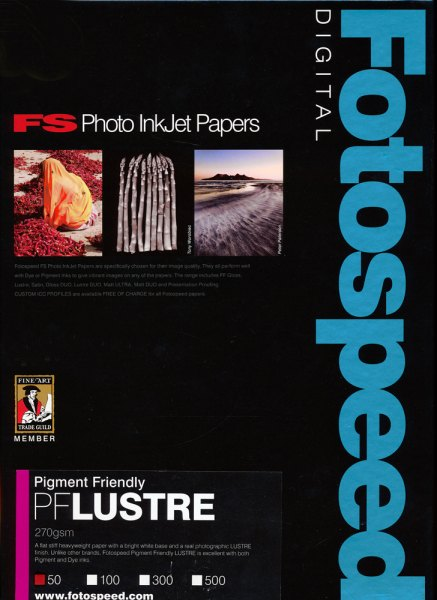 Fotospeed Fotospeed PF Lustre Paper, 275gsm, 6x4in - 100 sheets