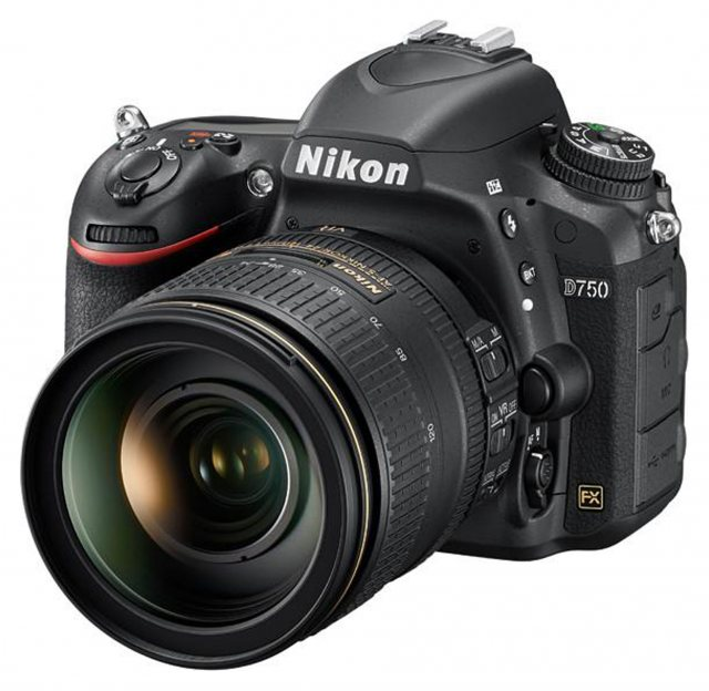 Nikon Nikon D750 Body with 24-120mm VR lens
