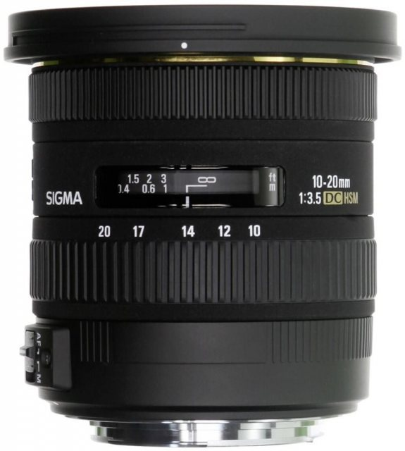 Sigma Sigma 10-20mm f3.5 EX DC HSM for Nikon