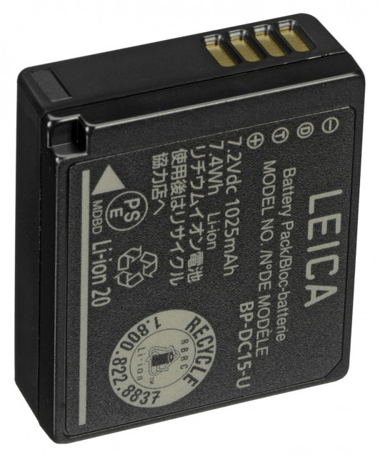 Leica Leica Lithium-Ion Battery BP-DC15 for D-LUX (Typ 109)