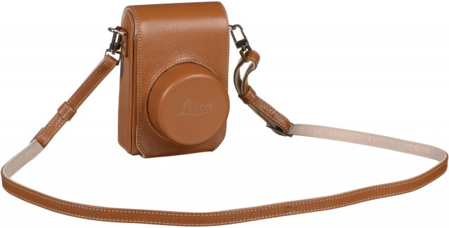 Leica Leica Camera bag for D-Lux (Typ 109), leather, cognac