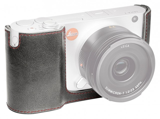 Leica Leica Protector, leather, stone grey