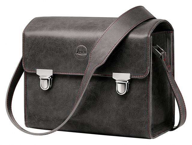 Leica Leica Leather system bag stone grey