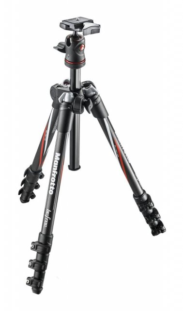 Manfrotto Manfrotto MKBFRC4 - BH BeFree Carbon Travel Tripod