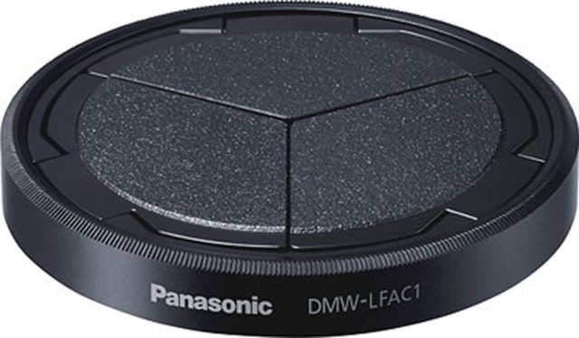 Panasonic Panasonic DMW-LFAC1 Lens Cap/shade for LX-100, black