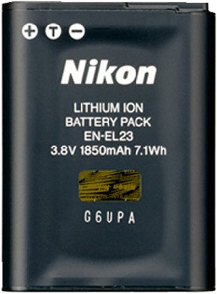 Nikon Nikon EN-EL23 Rechargeable Battery, 3.8v 1850mah